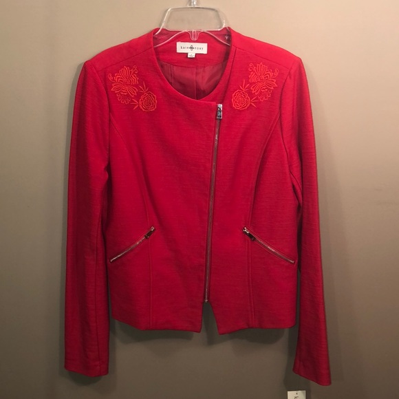 Kate Rosy Jackets & Blazers - ❣️SOLD kate rosy red jacket NWT